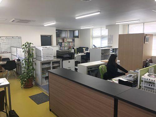 リニューアル後の事務室